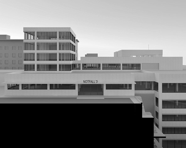 Kantonsspital Graubünden – Neubau Haus Q 1