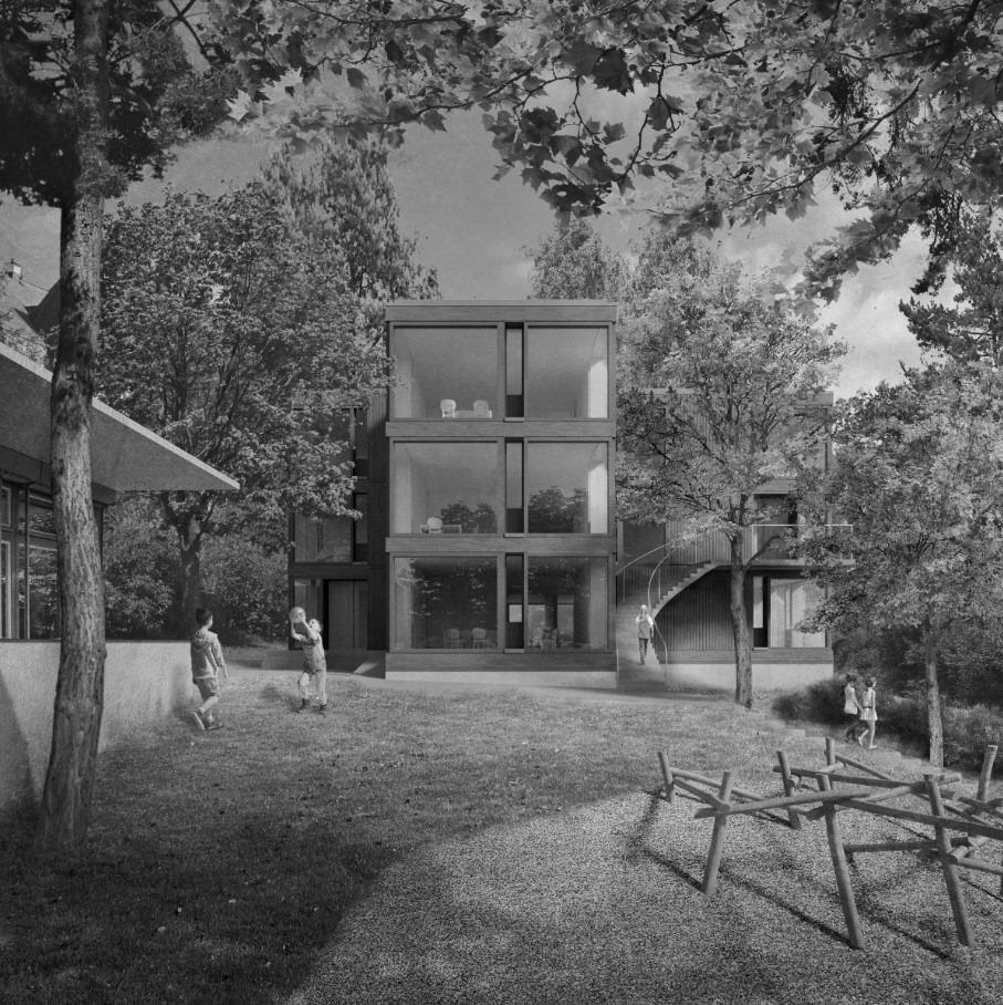 Neubau Tagesbetreuung Hebel, St.Gallen 1